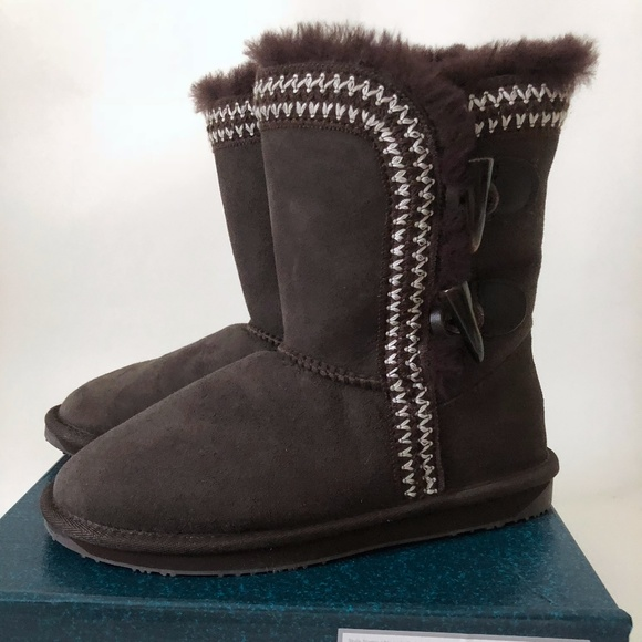 2d08ecfc146 Emu Shoes | New Albina Lo Winter Boots Womens 6 Chocolate | Poshmark